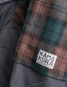 Kapital Kamakura brown and green jacket price K1711LJ216 BROUN PARKA shop online