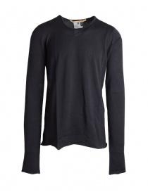 Mens knitwear online: Carol Christian Poell black sweater TM/2517-IN