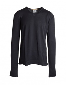 Mens knitwear online: Carol Christian Poell long sleeve black sweater TM/2517-IN