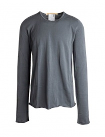 Mens knitwear online: Carol Christian Poell long sleeve grey sweater TM/2517