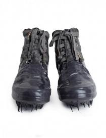 Scarpe Carol Christian Poell grigio scuro con suola in gomma colata alta calzature uomo acquista online