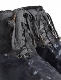 Scarpe Carol Christian Poell grigio scuro con suola in gomma colata alta calzature uomo prezzo