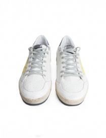 Sneakers Golden Goose Ball Star Bianche Gialle Viola calzature uomo acquista online