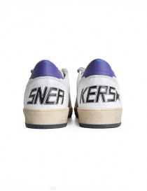 Sneakers Golden Goose Ball Star Bianche Gialle Viola acquista online prezzo