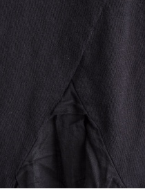 Black Kapital T-shirt with pleated linen tail price