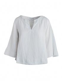 Camicia European Culture bianco grezzo maniche 3 quarti online