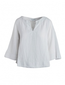 Camicia European Culture bianco grezzo maniche 3/4 online