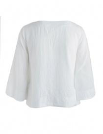 Camicia European Culture bianca maniche a tre quarti acquista online