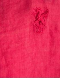 Blusa European Culture rossa plissettata con coda camicie donna acquista online