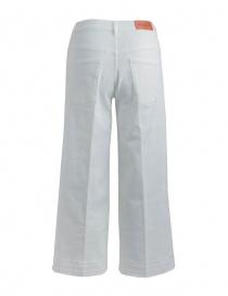 Jeans Avantgardenim bianco a palazzo