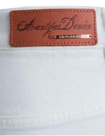 Jeans Avantgardenim bianco a palazzo prezzo