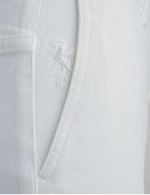 Jeans Avantgardenim bianco a palazzo jeans donna acquista online