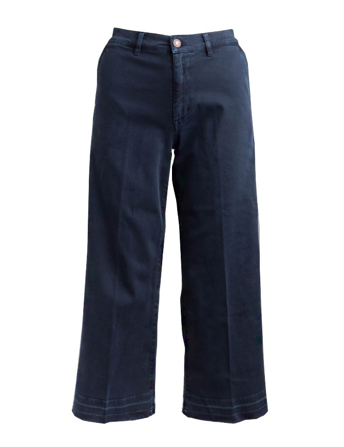 Avantgardenim navy blue palazzo jeans 05B1-3881-1508 womens jeans online shopping