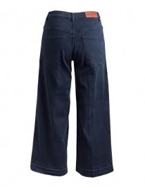 Jeans Avantgardenim blu navy a palazzo