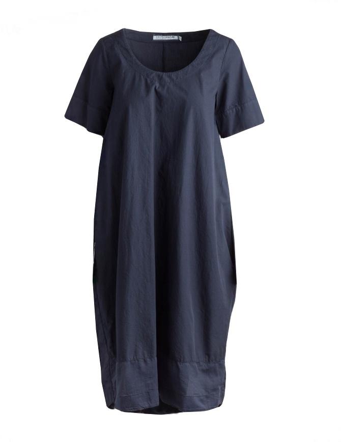 Abito European Culture lungo blu con maniche corte 1460 3101 1508 abiti donna online shopping