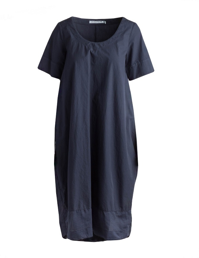 Sleeves Short European With Blue In Women's Culture Dress Cotton RTIrqxTX