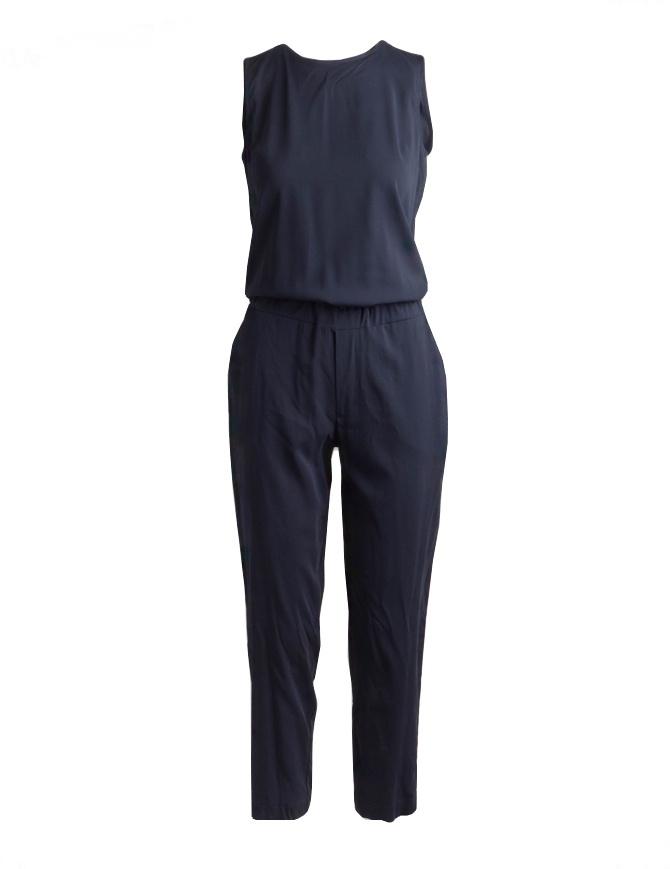 Tuta European Culture smanicata blu Lux Mood 1840 8040 1508 abiti donna online shopping