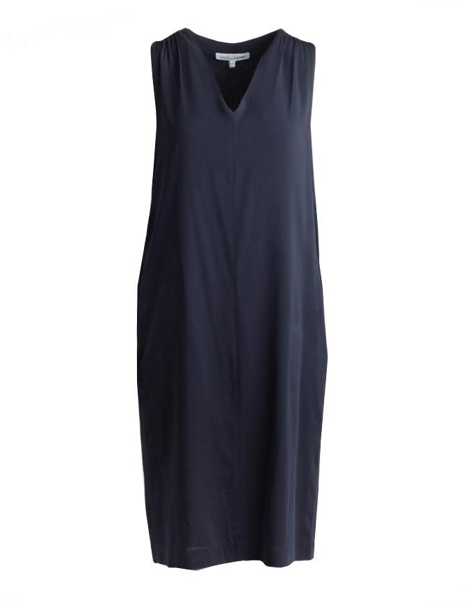 European Culture long sleeveless blue dress 1760 8040 1508 womens dresses online shopping