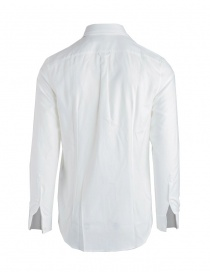 Golden Goose shirt in white pique cotton buy online