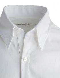 Camicia Golden Goose bianca in cotone piquet prezzo