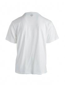 T-shirt Golden Goose bianca con stampa a stella