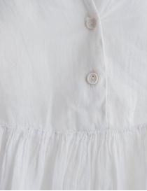 Blusa European Culture bianco avorio plissettata con coda prezzo