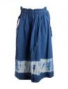 Kapital indigo skirt in linen buy online KOR608SK93 IDG