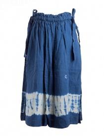 Kapital indigo skirt in linen