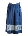 Kapital indigo skirt in linen shop online womens skirts