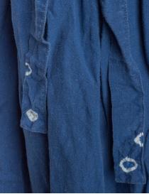 Kapital indigo skirt in linen price