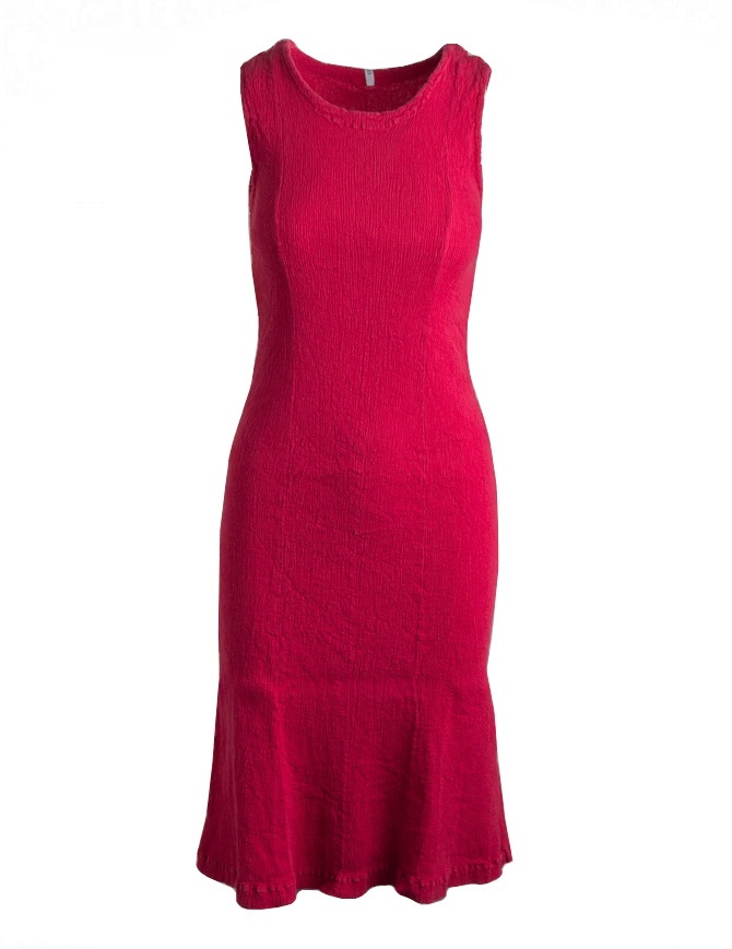 Crêperie red sleeveless shift dress TC05FH513-RED-DRESS womens dresses online shopping