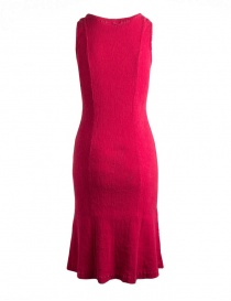 Crêperie red sleeveless shift dress