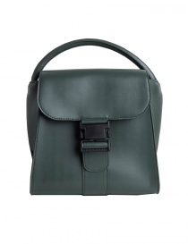 Zucca green bag with buckle online