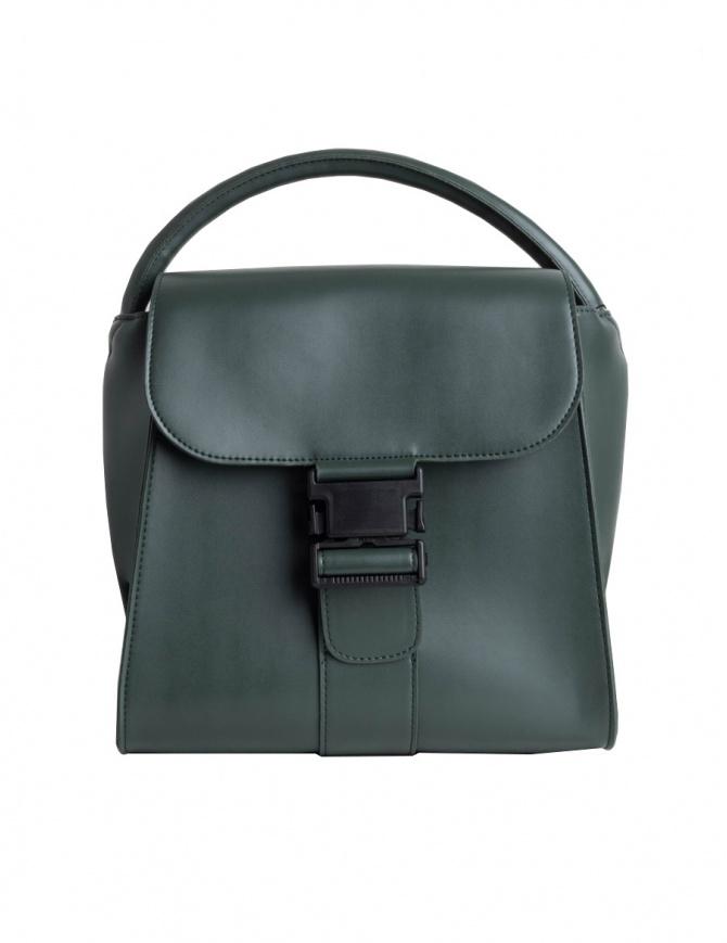 Borsa Zucca colore verde con fibbia ZU97AG176-10-GREEN borse online shopping