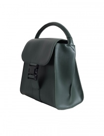 Zucca green bag with buckle