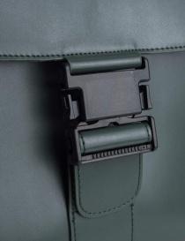 Borsa Zucca colore verde con fibbia borse acquista online