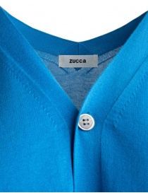 Zucca short-sleeved blue cardigan price