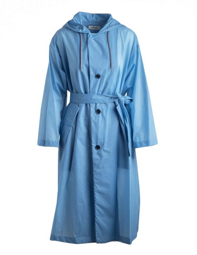 Zucca pastel light blue raincoat ZU97-FA033 AZZURRO womens coats online shopping