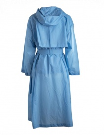 Zucca pastel light blue raincoat