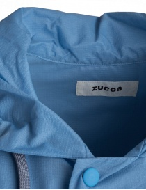 Zucca pastel light blue raincoat price