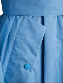 Zucca pastel light blue raincoat womens coats buy online