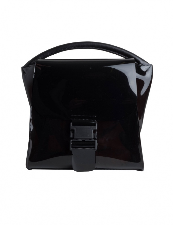 Borsa Zucca nera semitrasparente ZU97-AG174-26 BLACK borse online shopping