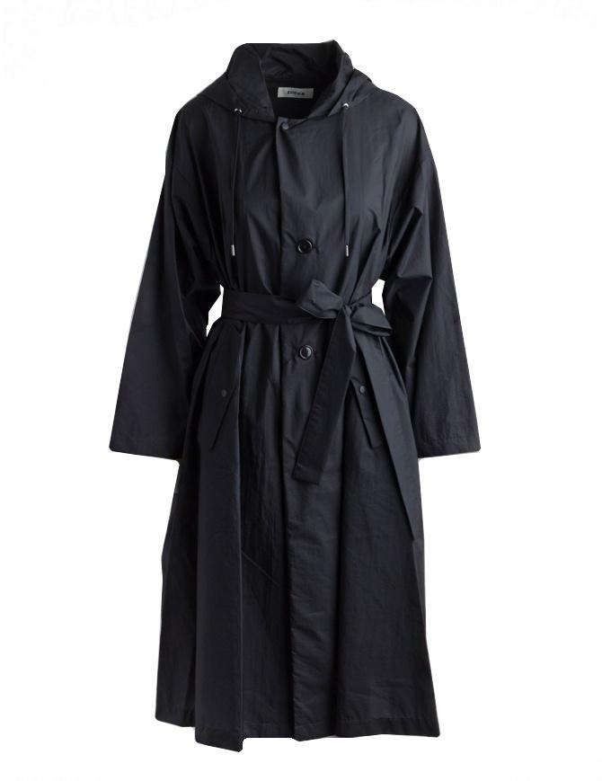 Impermeabile Zucca nero ZU97-FA033 NERO cappotti donna online shopping