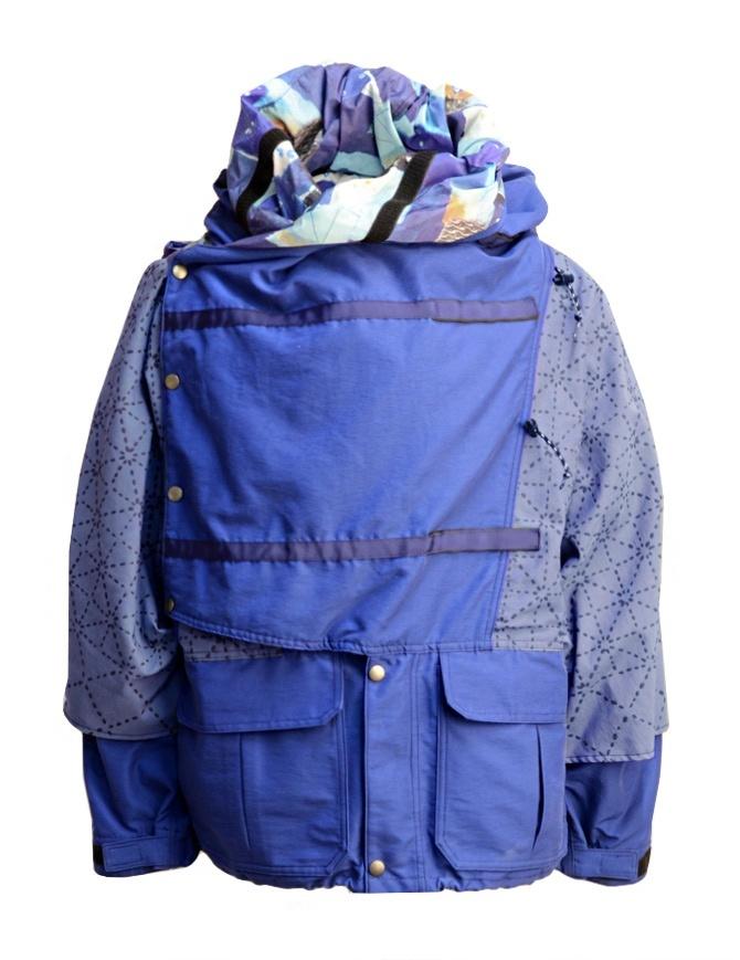 Giacca Kapital Kamakura colore celeste K1803LJ046 NAVY BLOUSON giubbini uomo online shopping