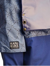 Giacca Kapital Kamakura colore celeste acquista online prezzo