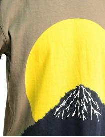 Kapital t-shirt with yellow moon and Mount Fuji price