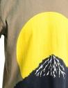 Kapital t-shirt with yellow moon and Mount Fuji K1805SC250 I-B MOON TSHIRT price