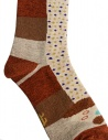 Kapital brown socks with dachshund drawing shop online socks