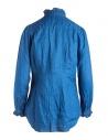 Camicia indaco Kapital con rufflesshop online camicie donna