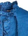 Camicia indaco Kapital con ruffles K1809LS036 IDG prezzo